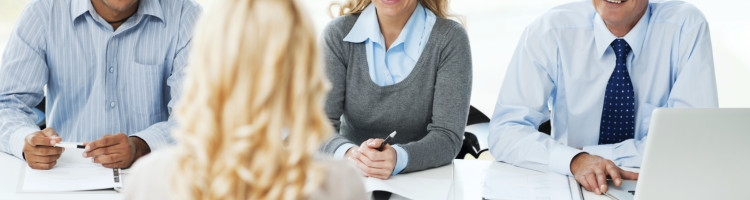 Job interview.  Businesswoman having a job interview.   [url=http://www.istockphoto.com/search/lightbox/9786622][img]http://dl.dropbox.com/u/40117171/business.jpg[/img][/url]